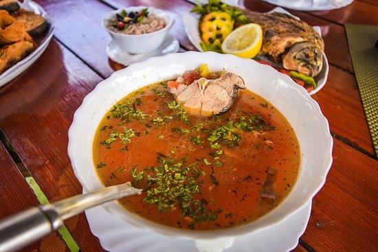 Crisan, Romania: Traditional Fish soup