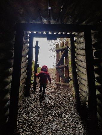 Atapuerca, España: Salida al exterior de la mina