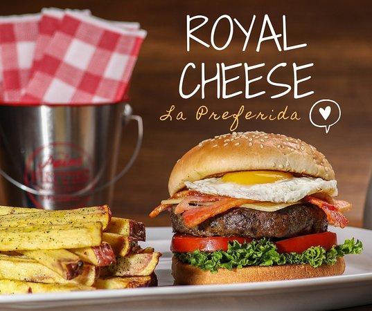 Hamburguesa Royal Cheese