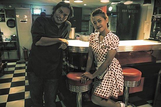 Kawit, Филиппины: Vintage feels with the server...
