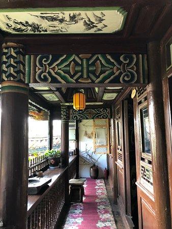Weishan County, China: accès à la chambre