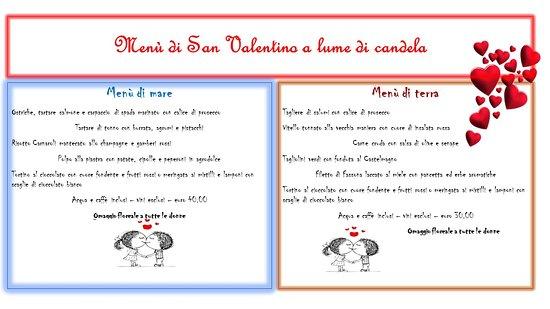 Antignano, Италия: San Valentino a lume di candela