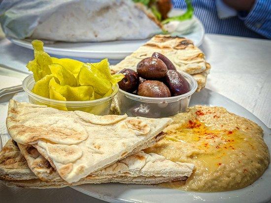 OPA Greek Restaurant: Hummus