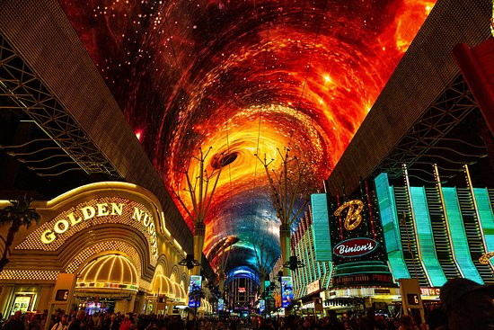 Light Show Vs Half Naked Girls Review Of Fremont Street Experience Las Vegas Nv Tripadvisor