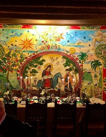 Cena de Navidad! en  El Monasterio - Cusin... hermoso ambiente
