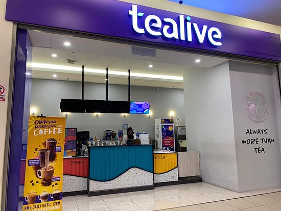 TEALIVE AT GROUND FLOOR IN BREM MALL KEPONG