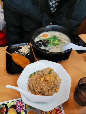 Soup Ramen and Fried Rice.