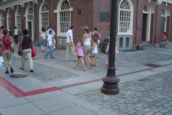 Liberty By Foot Boston Tours
