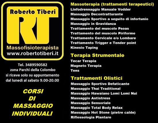 Roberto Tiberi Massofisioterapista