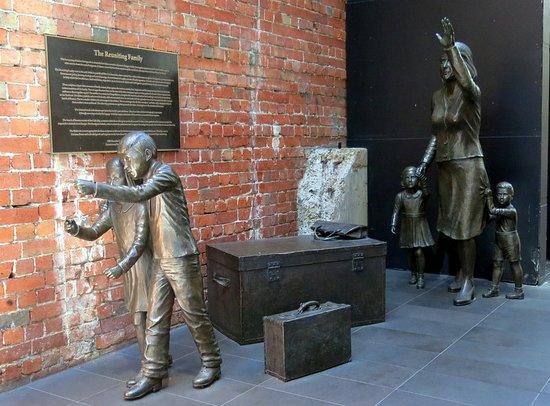 The Reuniting Family Sculpture