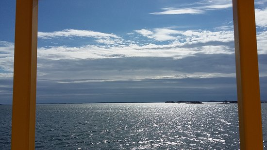 Иньо, Финляндия: Dark clouds in the sky, beautiful grey