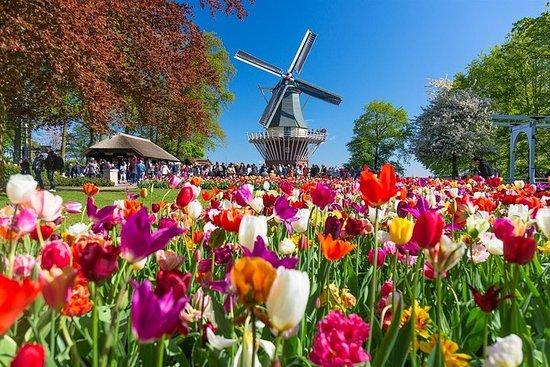 Keukenhof - Tour de Delft et de Delft...