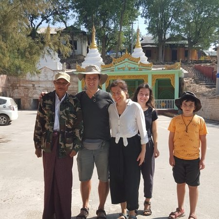 My taxi services send to our guests with friendly driver to Monywa and Bagan sightseeing.