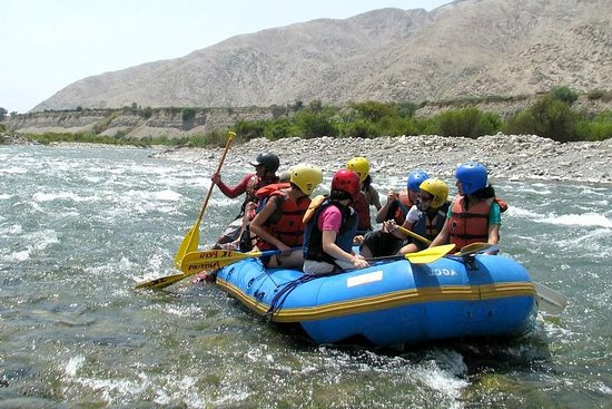 Rafting à la Lunahuana