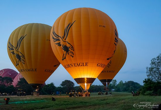 Balloons in Bagan