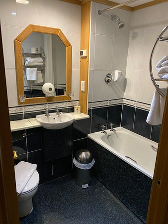 On suite bathrooms