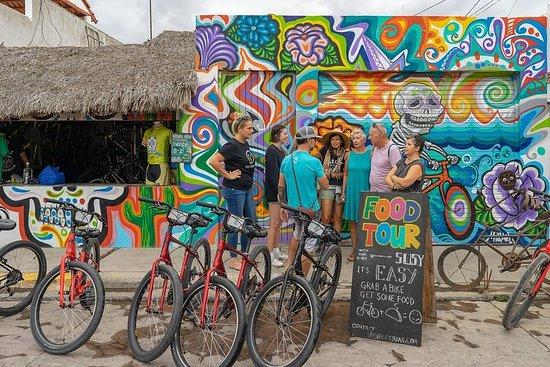 Excursão de bicicleta e gastronomia...