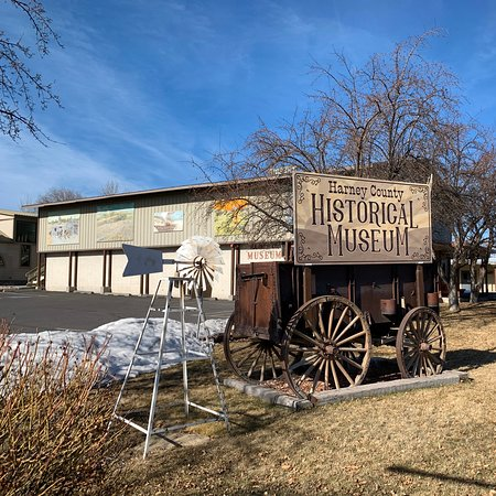 The Harney County Historical Society Museum