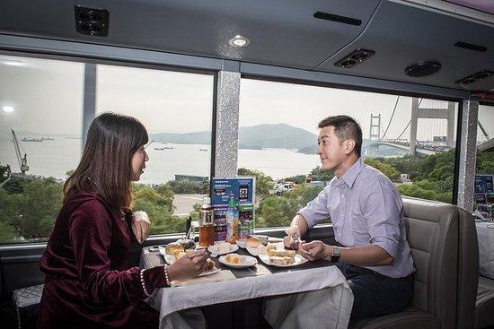 香港でのクリスタルバス観光とダイニング・ツアー