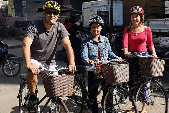 Fahrrad-Food-Tour in Mandalay