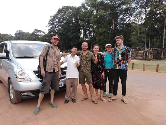 """In Angkor Thom trips  Angkor Thom a """"Great City"""", alternative name: Nokor Thom, located in present-day Cambodia, was the last and most enduring capital city of the Khmer empire. It was established in the late twelfth century by King Jayavarman VII.[1]:378–382[2]:170 It covers an area of 9 km², within which are located several monuments from earlier eras as well as those established by Jayavarman and his successors.  Call/WhatsApp +85569467474 info@exclusivecambodiatravel.com"""