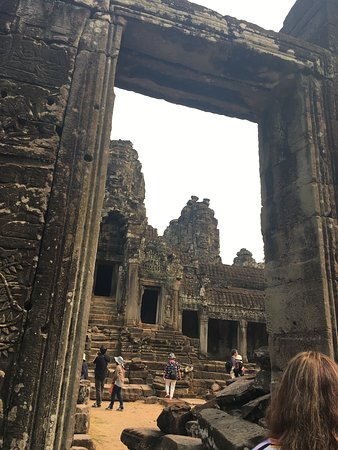 Entrance Into Bayon Temple Courtyard