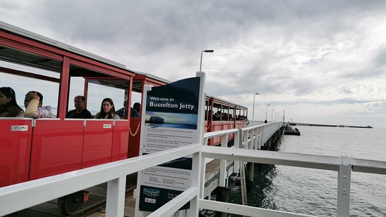 Busselton Jetty Train Ride and Underwater Observatory Tour: train