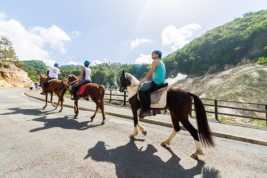 Фотография 2.5-hour Horseback Ride and Volcano Tour in St. Lucia