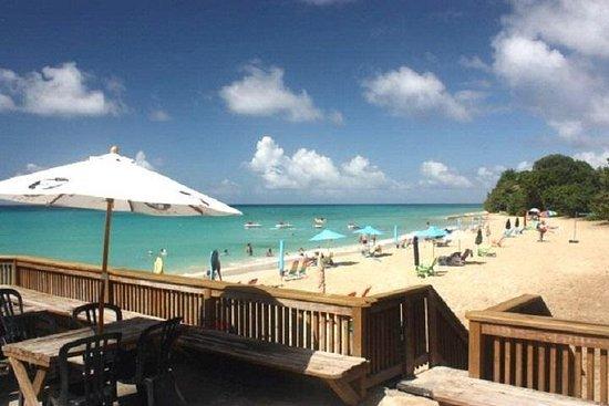 Rainbow Beach con trasporto di andata e ritorno a St. Croix