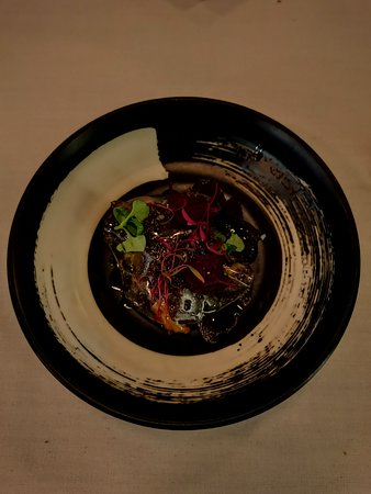 Crosne, truffle - this dish was amazing
