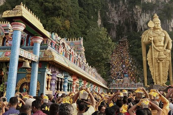 Most Visited Hindu Temple at Malaysia