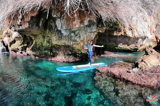 Paddle Surf Route Cliffs Nerja e