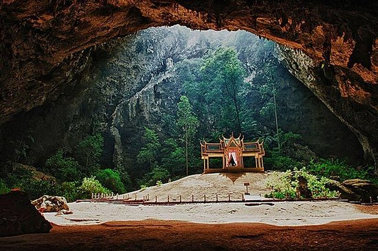 Sam Roi Yod nasjonalpark og Prayanakhon Cave privat tur fra Hua Hin