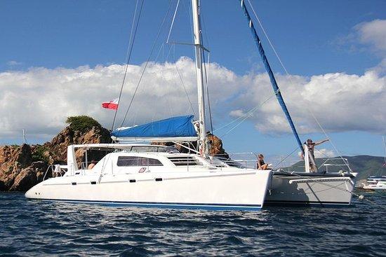 Giornata in catamarano per Anguilla e Prickly Pear Cays da St Martin