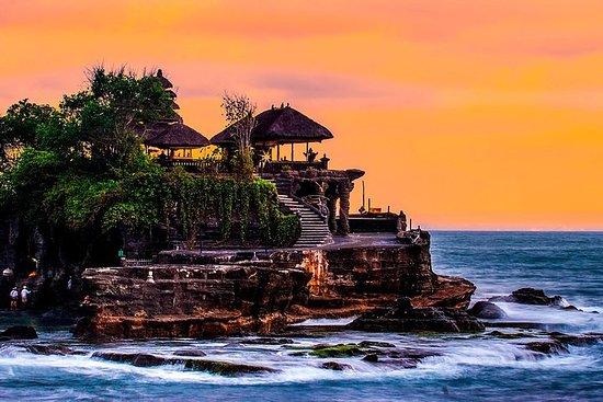 Melhor destino de Bali - meio dia Tanah...