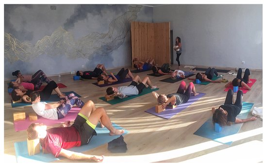 Vredehoek, Sudáfrica: Yoga classes every day