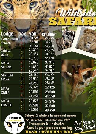 Masai Mara Nationalreservat, Kenia: bush safaris