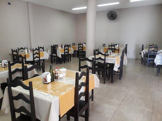 Minas Novas: Espaço restaurante