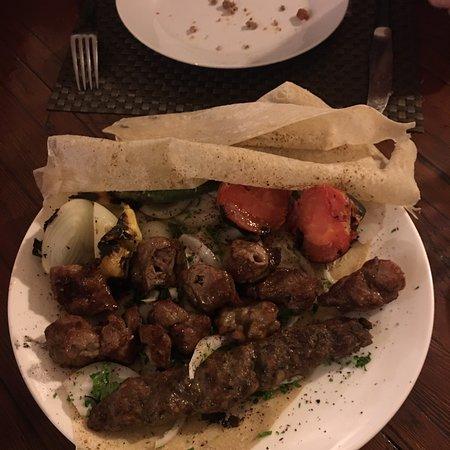 Buon cibo a Madaba