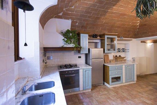 San Felice apartment, living kitchen