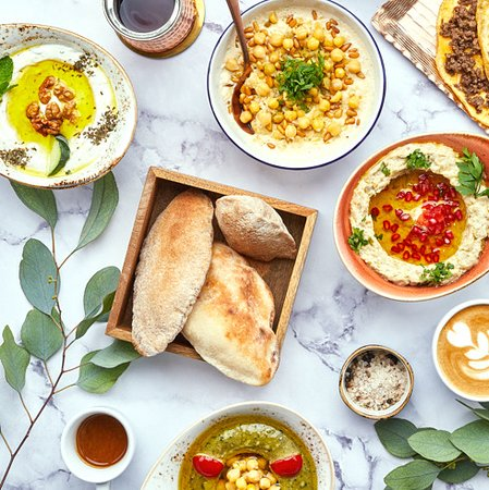 For Mozata, sharing is caring is not just a term -it's a lifestyle! Come in and try our labneh and special dips with your beloved ones!