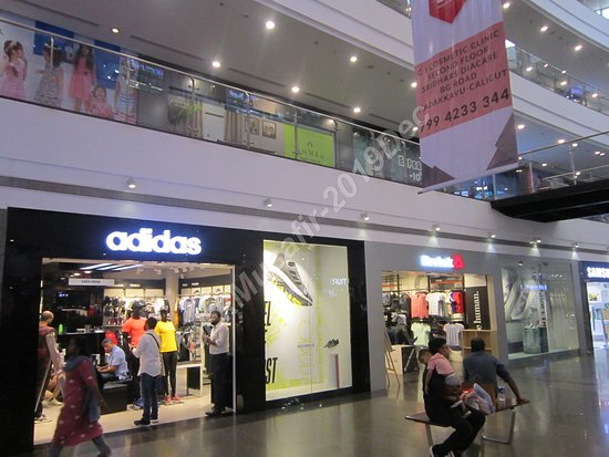 Mall stores.