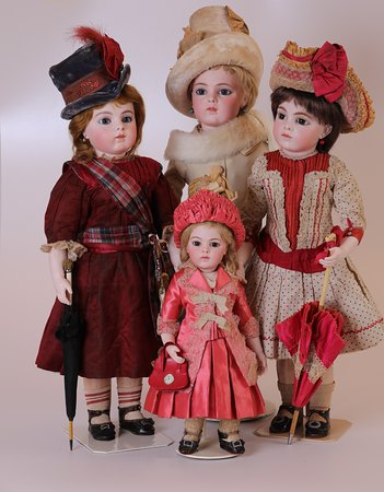 these are some important pieces of the doll collection we have
