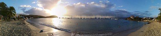 Martinik: Panoramic view
