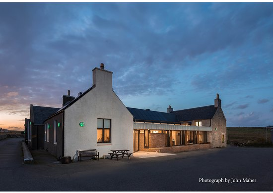 Stornoway, UK: Our recently renovated building.