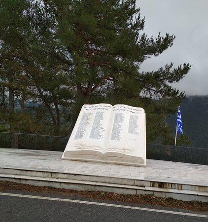 Arkadia Region, Yunanistan: Μνημείο στο Ζυγοβιστι