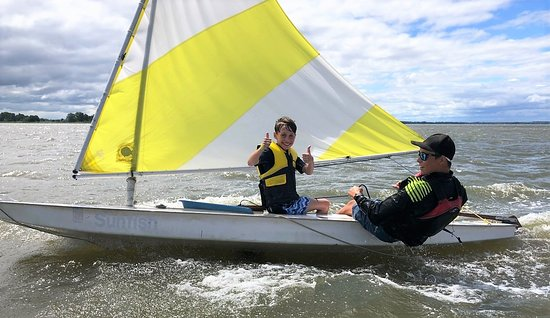 Rock Hall, MD: Sailing is an incredible skill and feeling!