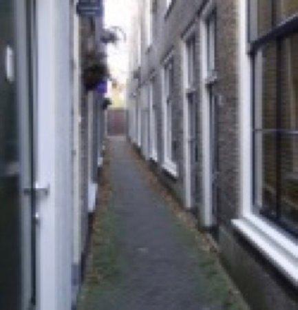 Gouda, Nizozemsko: Smalle Goudse Steegjes