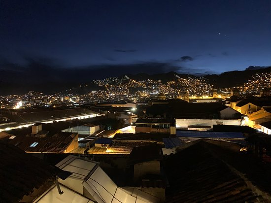 View over Cusco.