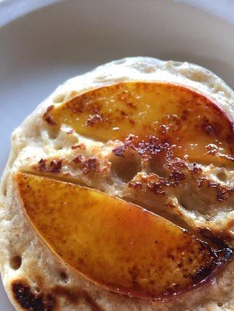 Sierraville, CA: peach pancakes